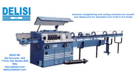 H12M – Automatic wire straightening and cutting machine