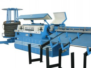 HS16H – Automatic wire straightening and cutting machine