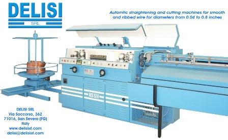 HS6H – Enderezadora y cortadora automática de alambre
